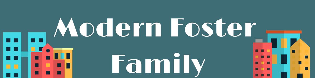 modern foster family
